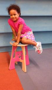 girl stool