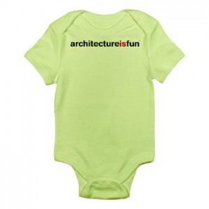 baby_architecture_is_fun_green_infant_onesie