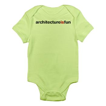 baby_architecture_is_fun_green_infant_onesie
