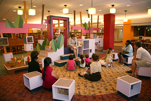 Architecture Is Fun Evanston Public Library: Children's Library - Peter Exley Sharon Exley ...